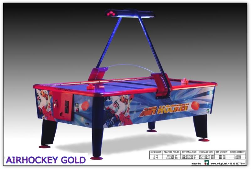 Air hockey wik gold palets occasion - Billard blacklight prix ...
