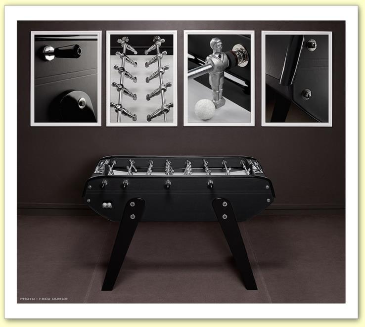 babyfoot bonzini b 90 domeau p r s cuir noir sans monnayeur. Black Bedroom Furniture Sets. Home Design Ideas