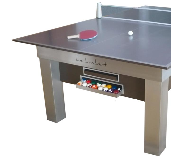 Billard pearl - Table de billard transformable en table de salle a manger ...