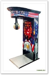 Boxer occasion punching ball occasion jeu de force occasion coup de poing occasion - Machine a coup de poing technique ...