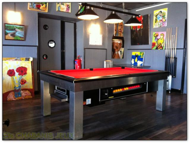 billard toulet le lambert. Black Bedroom Furniture Sets. Home Design Ideas