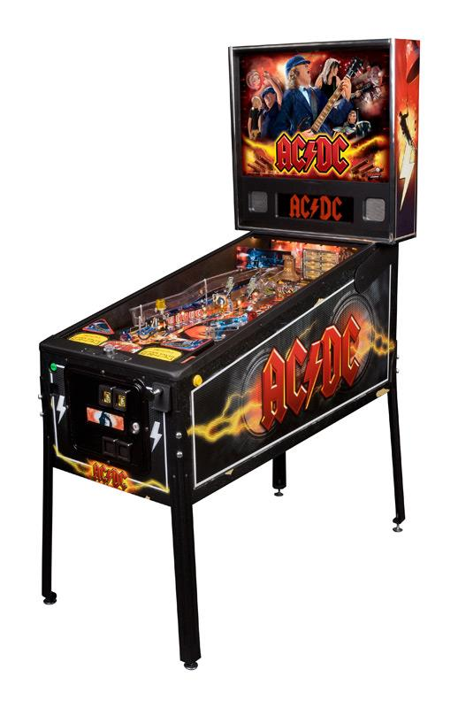 flipper ac dc pro stern d 39 occasion acdc. Black Bedroom Furniture Sets. Home Design Ideas