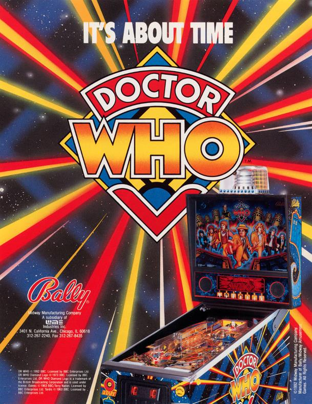 Flipper bally doctor who occasion - Billard blacklight prix ...