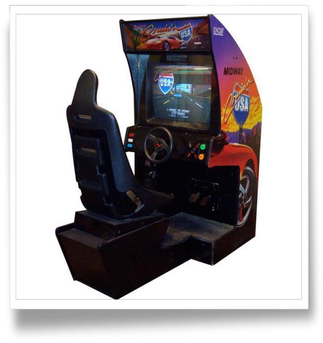borne arcade cruis'n usa