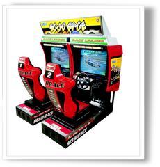 borne arcade conduite