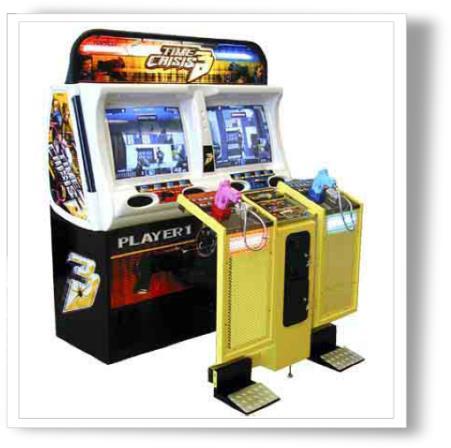 borne arcade time crisis