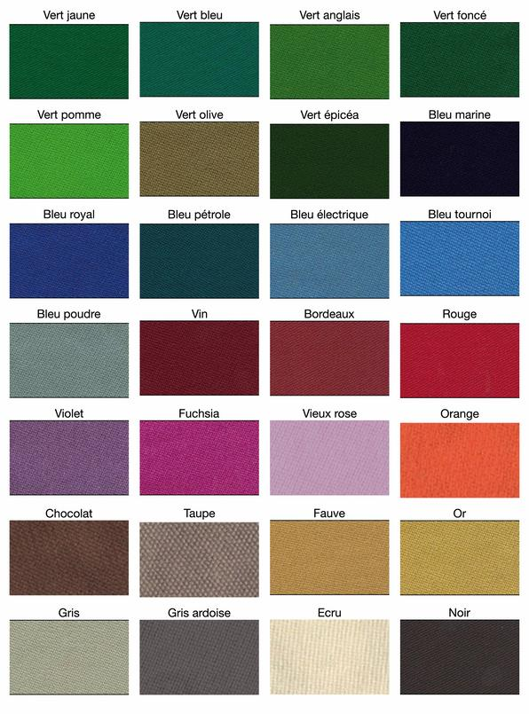 R fection de tapis de billard - Les differents types de tapis ...
