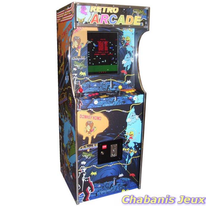 borne arcade neuve stickers multijeux. Black Bedroom Furniture Sets. Home Design Ideas